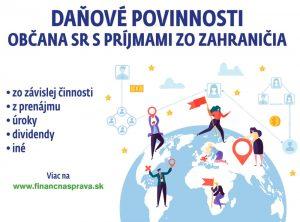 Danove povinnosti obcana slovenska